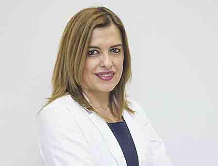 En la imagen,  la Dra. Carmen Pingarrón.