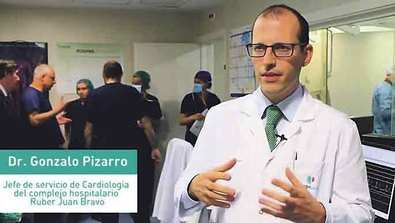 El complejo hospitalario Ruber Juan Bravo realiza la primera reducción del seno coronario en un Hospital privado en España