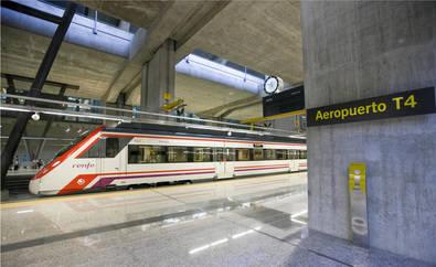 Cercanías duplica el servicio al Aeropuerto