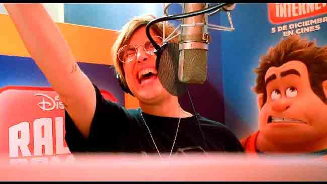 Yellow Mellow canta en la nueva película Disney 'Ralph rompe Intenet'