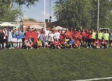 Redpiso patrocina el Torneo 'Fútbol para todos' de Hortaleza