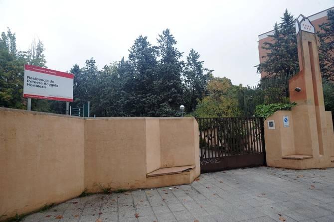 La residencia de Primera Acogida, junto al parque Isabel Clara Eugenia