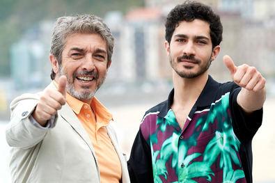 Ricardo Darín y su hijo, Chino Darín.