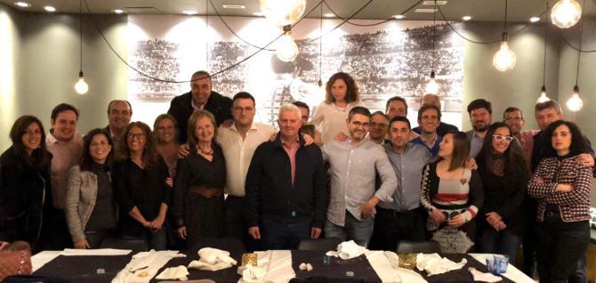 Encuentro de los gobiernos de PSOE y Ciudadanos de Alcobendas y San Sebastián de los Reyes