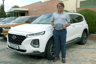 """El Hyundai Santa Fe elegido por los jugadores de golf como """"Coche Ideal"""""""