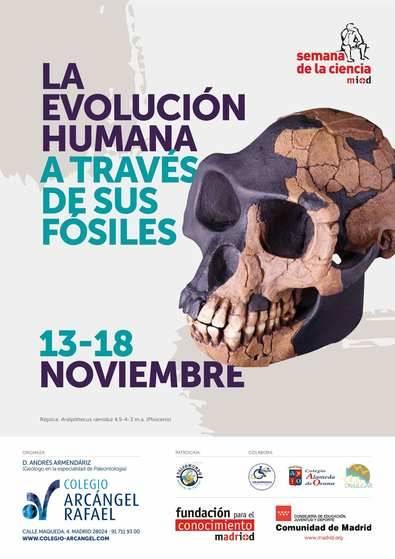 La Evolución Humana a través de sus fósiles, en la Semana de la Ciencia