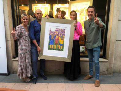 Arte solidario contra el cáncer infantil