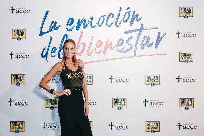 La modelo y escritora Sandra Ibarra fue la encargada de conducir el evento.