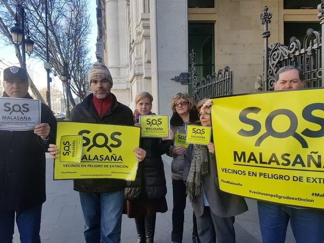 Los vecinos llevan reclamando medidas para frenar el deterioro del barrio de Malasaña.