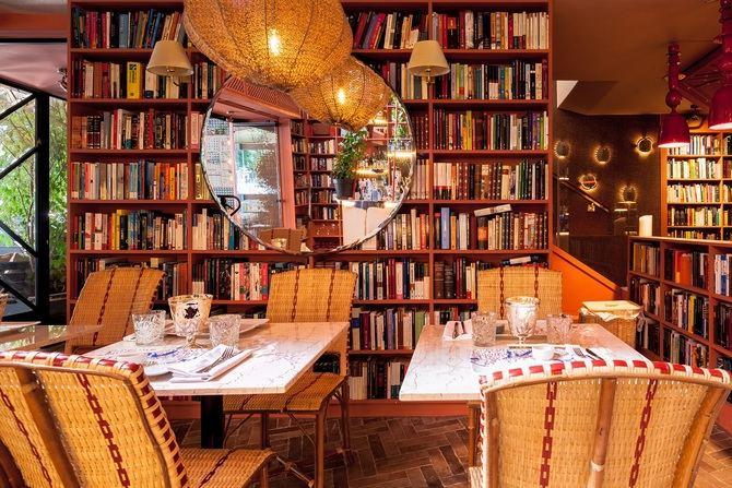 El grupo Sushita apoya un año más la semana del Día del Libro, poniendo a disposición del público general la biblioteca que alberga el restaurante Madame Sushita.
