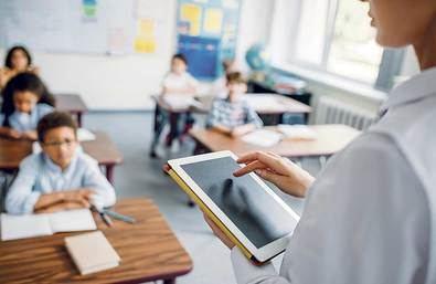 'Profes' y tecnología para impartir clases
