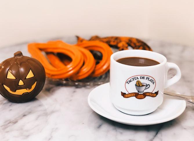 Churros de Halloween para un desayuno terrorífico