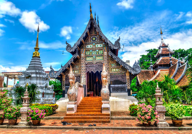 Chiang Mai, Tailandia.