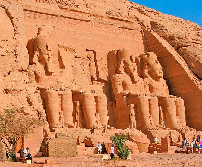 Abu Simbel, Egipto.