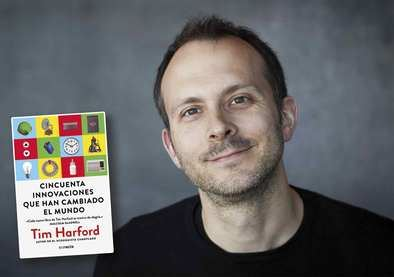 Tim Harford,  periodista de la BBC y del 'Financial Times', reúne en su nuevo libro las historias detrás de '50 innovaciones que han cambiado el mundo' (Conecta),  y que ayudan a entender cómo funciona la sociedad actual en la que vive el ser humano.