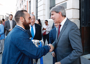 Garrido recibe al Inter Movistar Fútbol Sala, campeón de Europa, Liga y Supercopa