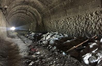 El túnel peatonal de Las Tablas, en marcha