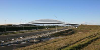 Arrancan por fin las obras del puente de Valdebebas