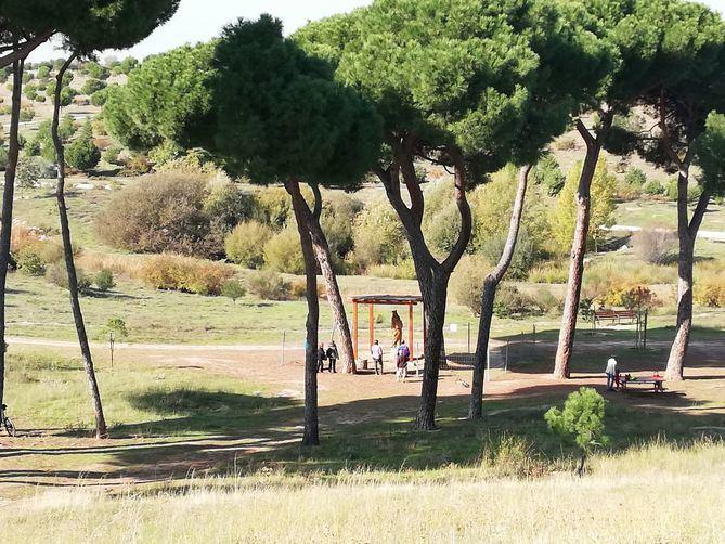 La imagen está en Los Cenagales, referenciada por Google Maps