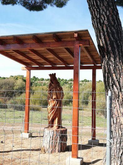 Nace 'Amava' para defender a la Virgen de Valdebebas