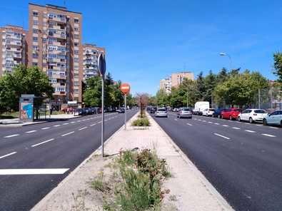 Valdetorres del Jarama estrena asfalto y carril bus, pero no aparcamiento
