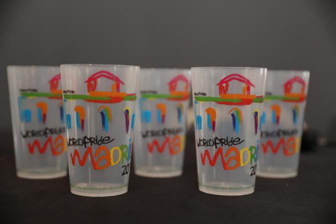 Se utilizarán vasos retornables para la celebración del WorldPride 2017.