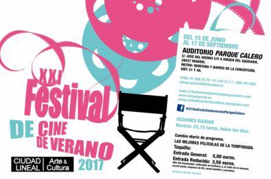 Cine de estreno en el Parque Calero