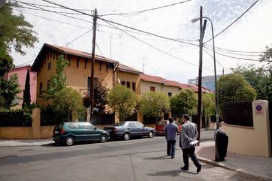 Colonia Obrera de Chamartín, en Alfonso XIII