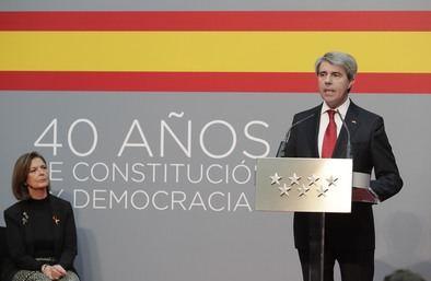 Garrido ha subrayado que la Constitución 'ha impulsado y articulado un proceso de modernización en toda España que se ha traducido en un mayor nivel de desarrollo y de bienestar, así como en un estímulo constante para profundizar en la cohesión social y la reducción de los desequilibrios'.