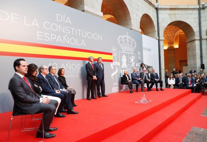 Más de 400 invitados acudieron al acto homenaje a la Constitución en la Comunidad de Madrid.