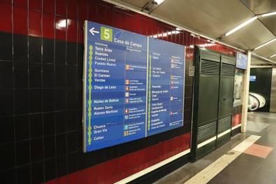 En julio se corta la Línea 5 de Metro
