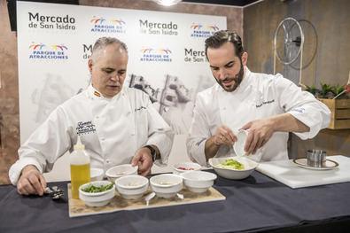 Mario Sandoval, chef del Parque de Atracciones de Madrid