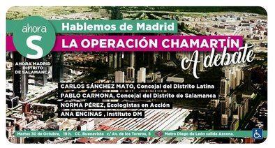 Ahora Madrid trae la Operación Chamartín a Salamanca