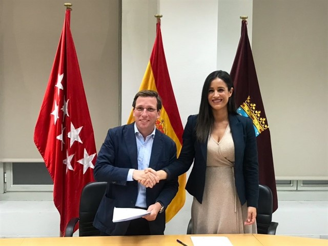 Begoña Villacis será vicealcaldesa de Madrid, mientras que la Alcaldía la ostentará José Luis Martínez Almeida.