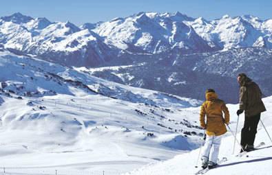 En la cumbre de los Pirineos