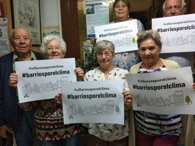 Hortaleza, al 27S con el lema Barrios por el Clima