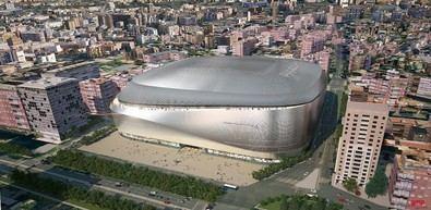 El nuevo Bernabéu, al detalle