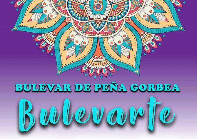 Cartel de Bulevarte en Peña Gorbea