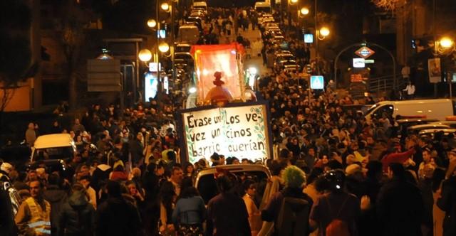 La Cabalgata de Hortaleza, organizada por los vecinos.