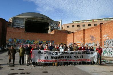 Los vecinos vuelven a reclamar un hospital en la cárcel de Carabanchel