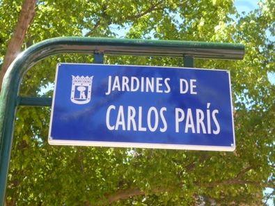Tetuán recuerda a su vecino Carlos París