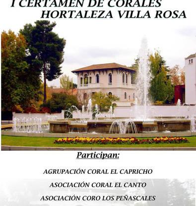 Arranca el Certamen de Corales Villa Rosa