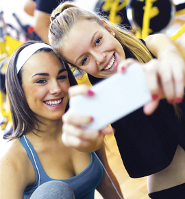 Los selfies han ido evolucionando y lo de hacerse fotos a uno mismo ha dado con multitud de variantes como los welfie, instantáneas que uno se toma mientras entrena o frente al espejo del gimnasio.