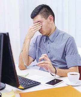 Consejos para cuidar tu vista en la oficina