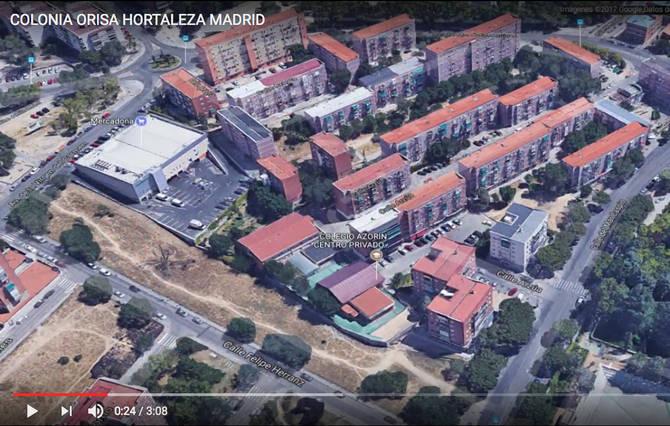 Fotograma del vídeo de La Noria de Hortaleza
