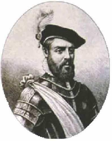 Uno de los comuneros de Castilla junto a Bravo y Maldonado
