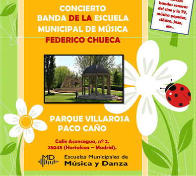 Concierto en Villa Rosa