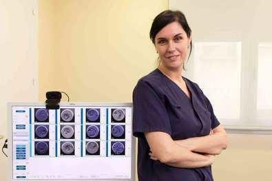 """""""Estamos buscando marcadores no invasivos para saber si un embrión será genéticamente sano"""""""