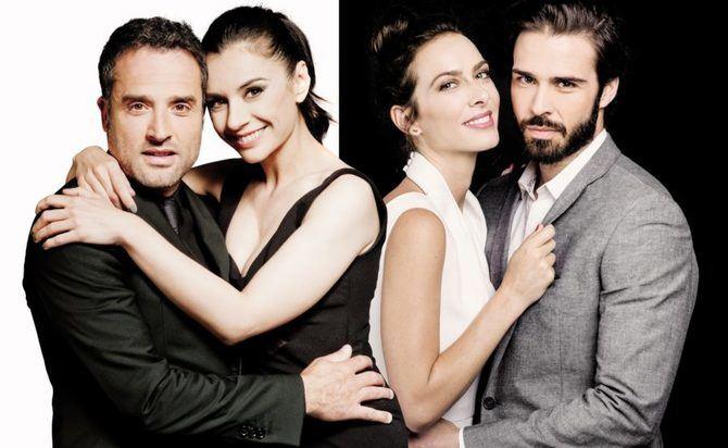 Entretenida comedia de parejas en el Teatro La Latina, 'Dos más dos'.