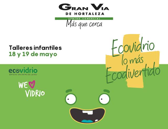 Este fin de semana, talleres de reciclaje infantil en el centro comercial Gran Vía de Hortaleza